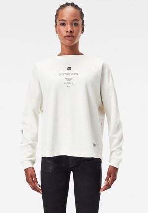 MULTI GR RELAXED - Sweatshirt - milk