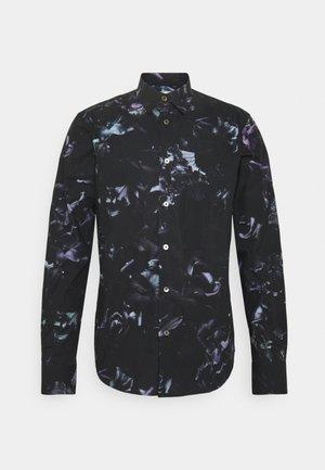 GENTS SLIM - Camisa - black