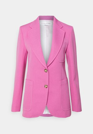 SINGLE BREASTED FITTED JACKET - Bleiseri - bright pink