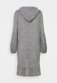 Freequent - FQLIVANA - Gebreide jurk - med. grey melange - 1