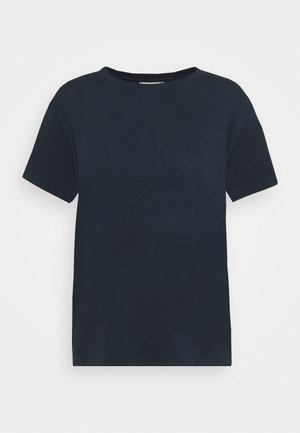 SHORT SLEEVE ROUND NECK - Basic T-shirt - dark night