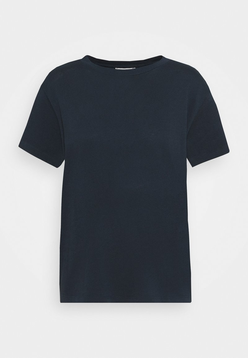 Marc O'Polo - SHORT SLEEVE ROUND NECK - Camiseta básica - dark night