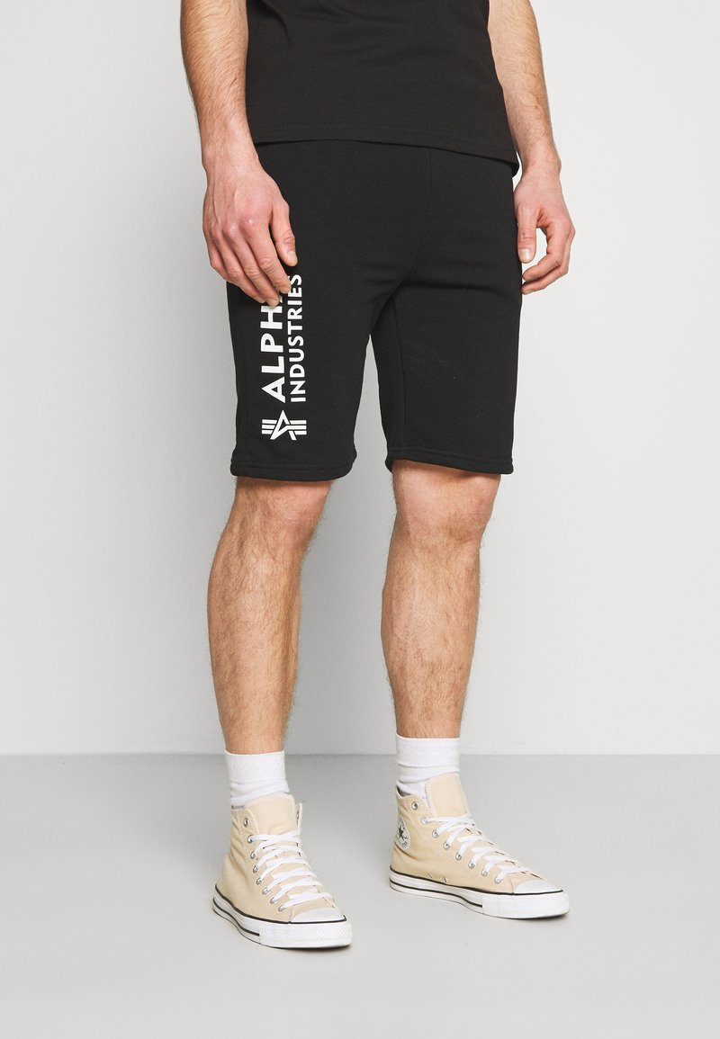 Alpha Industries - Teplákové kalhoty - black