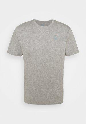 T-shirt basic - middle grey melange