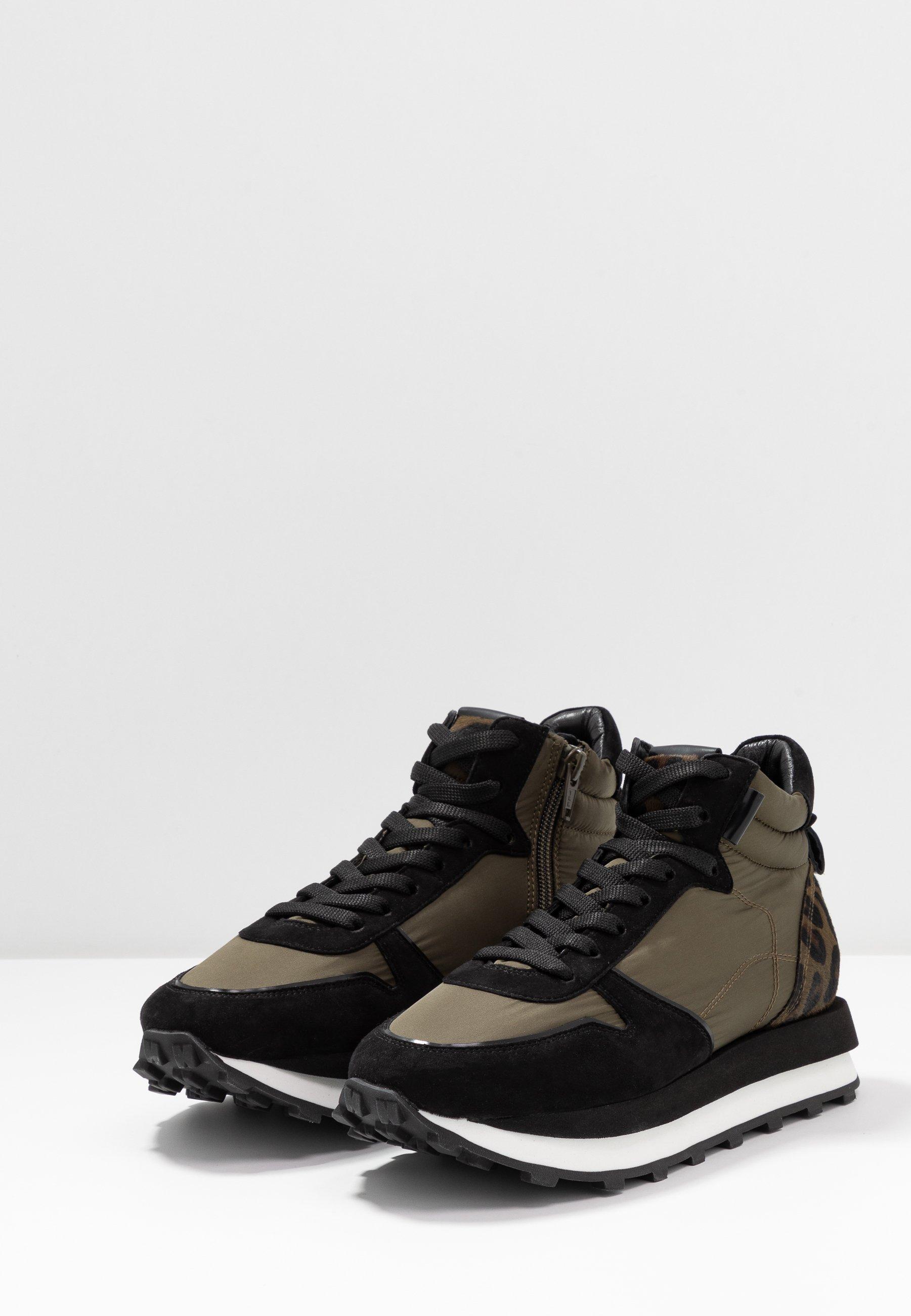 Kennel + Schmenger HERO Sneaker high jun/schwarz/khaki/khaki