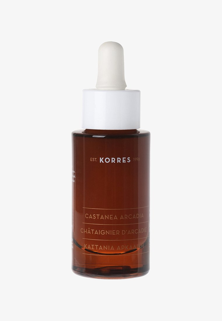 Korres - CASTANEA ARCADIA ANTI-WRINKLE FIRMING & BRIGHTENING SERUM 30ML - Serum - neutral