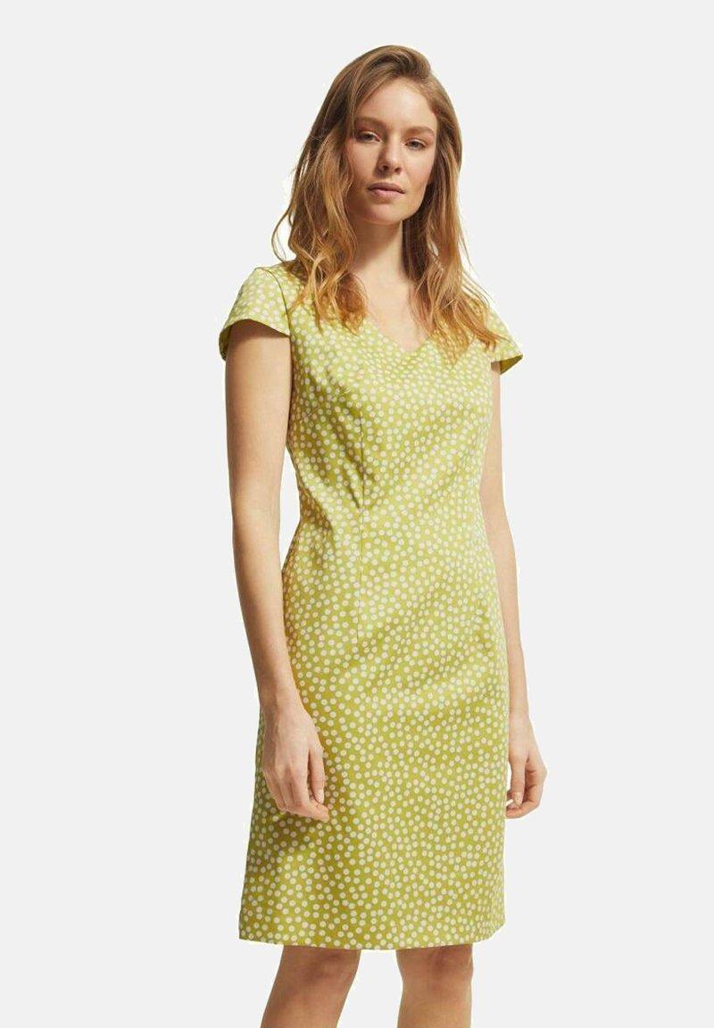 comma - Day dress - yellow