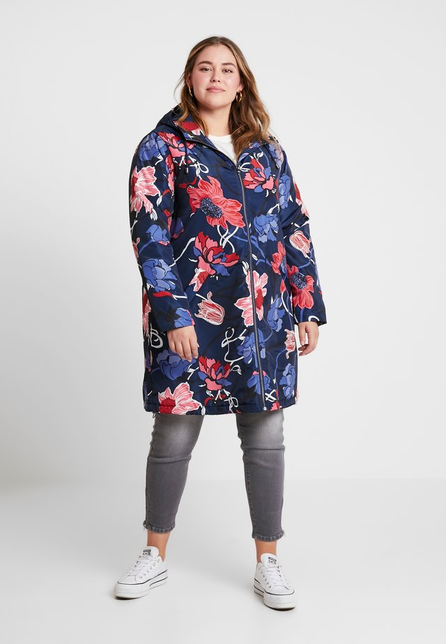 FLORAL PRINTED - Cappotto invernale - navy