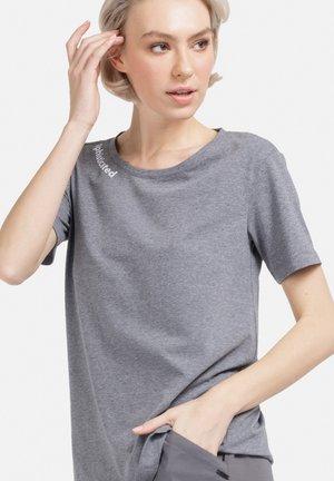 T-shirt print - dunkel grau