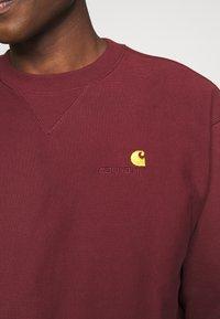 Carhartt WIP - AMERICAN SCRIPT - Sweatshirt - bordeaux - 4