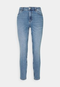 ONLY - ONLERICA LIFE MID ANK - Jeans a sigaretta - light blue denim - 4