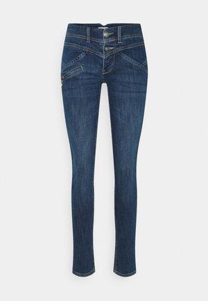 COREENA - Jeans slim fit - dark-blue denim