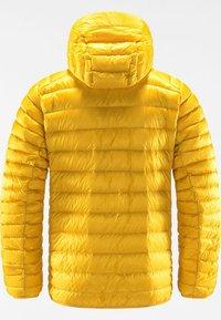 Haglöfs - ROC DOWN HOOD - Down jacket - pumpkin yellow - 5