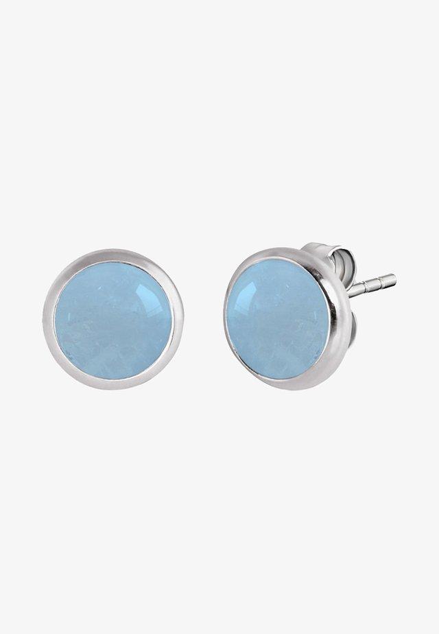 Earrings - blue