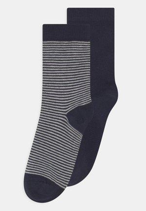 2 PACK UNISEX - Socks - dark blue