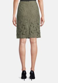 Betty Barclay - A-line skirt - dusty olive - 2