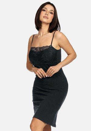 HALKA Z  - Koszula nocna - czarna z koronką