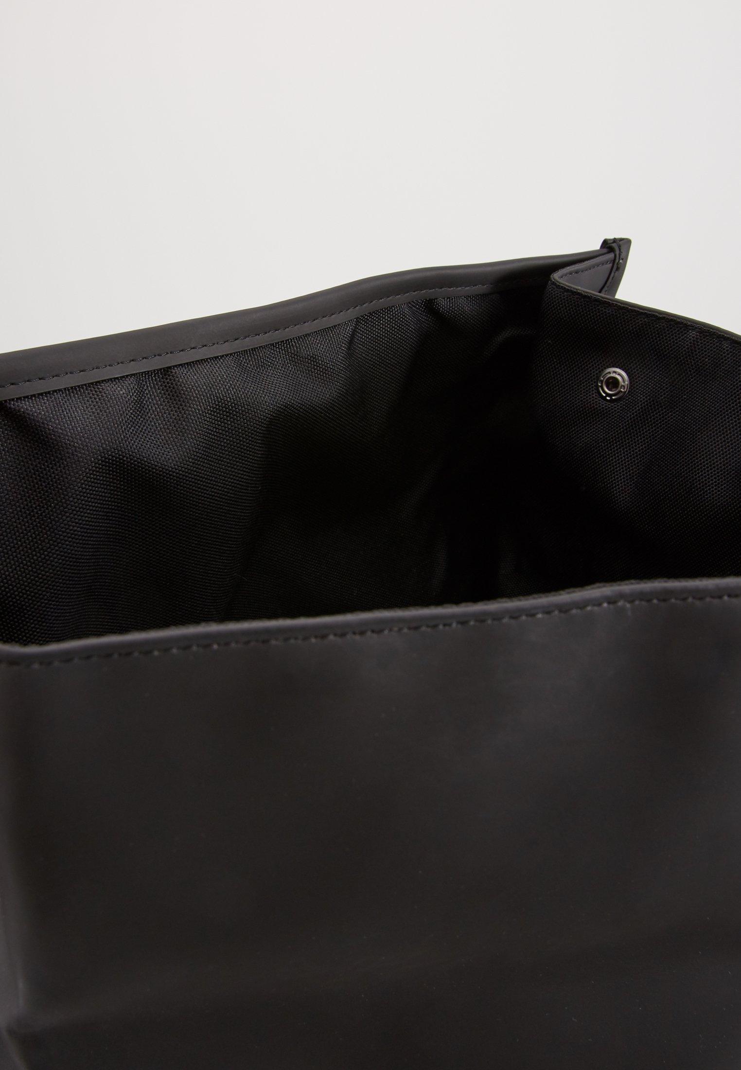 Rains ROLL TOP - Tagesrucksack - black/schwarz - Herrentaschen IeqFT