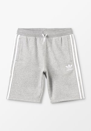 Kraťasy - medium grey heather/white