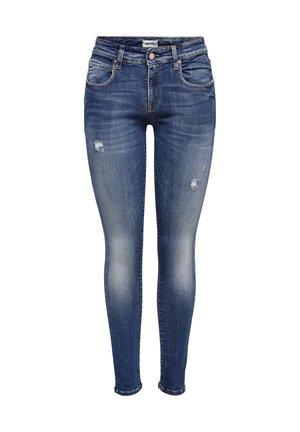BARBARA - Jeans Skinny - dark blue denim