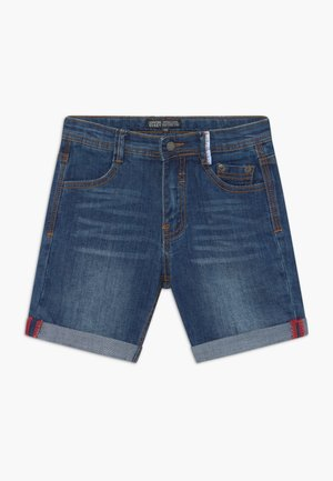 SMALL BOYS BERMUDA - Denim shorts - dark blue