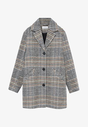 SQUARE - Short coat - grau