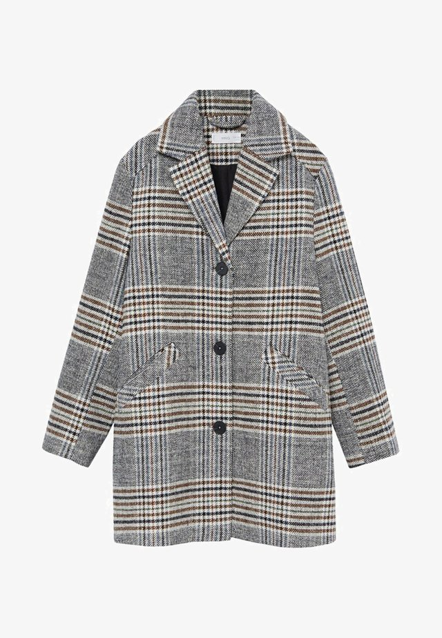 SQUARE - Krótki płaszcz - grau