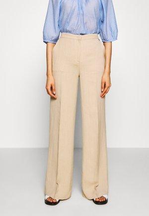 Trousers - nougat