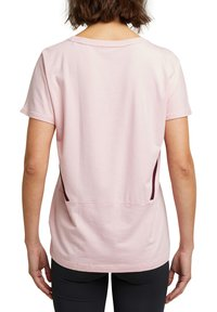Esprit Sports - Print T-shirt - light pink - 2