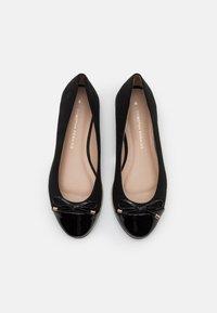 Dorothy Perkins - PINE TOE CAP RAND - Ballerina - black - 5