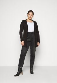 CAPSULE by Simply Be - BOYFRIEND CARDIGAN - Cardigan - black - 1