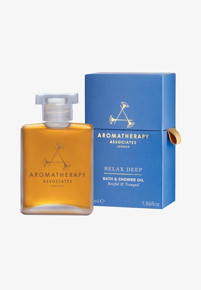 AROMATHERAPY ASSOCIATES DEEP RELAX BATH & SHOWER OIL - Shower gel - light yellow