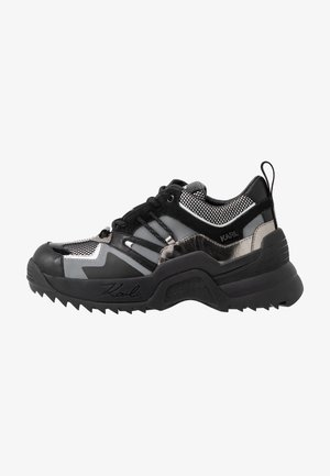 QUEST DELTA MIX - Sneaker low - black/silver