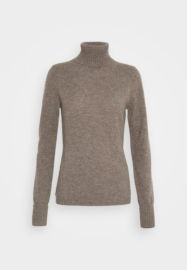 ROLLNECK - Strickpullover - truffle