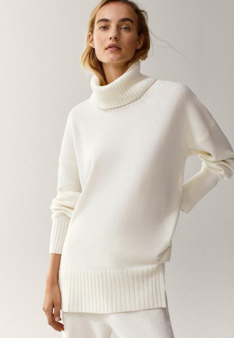 Massimo Dutti - Sweater - white