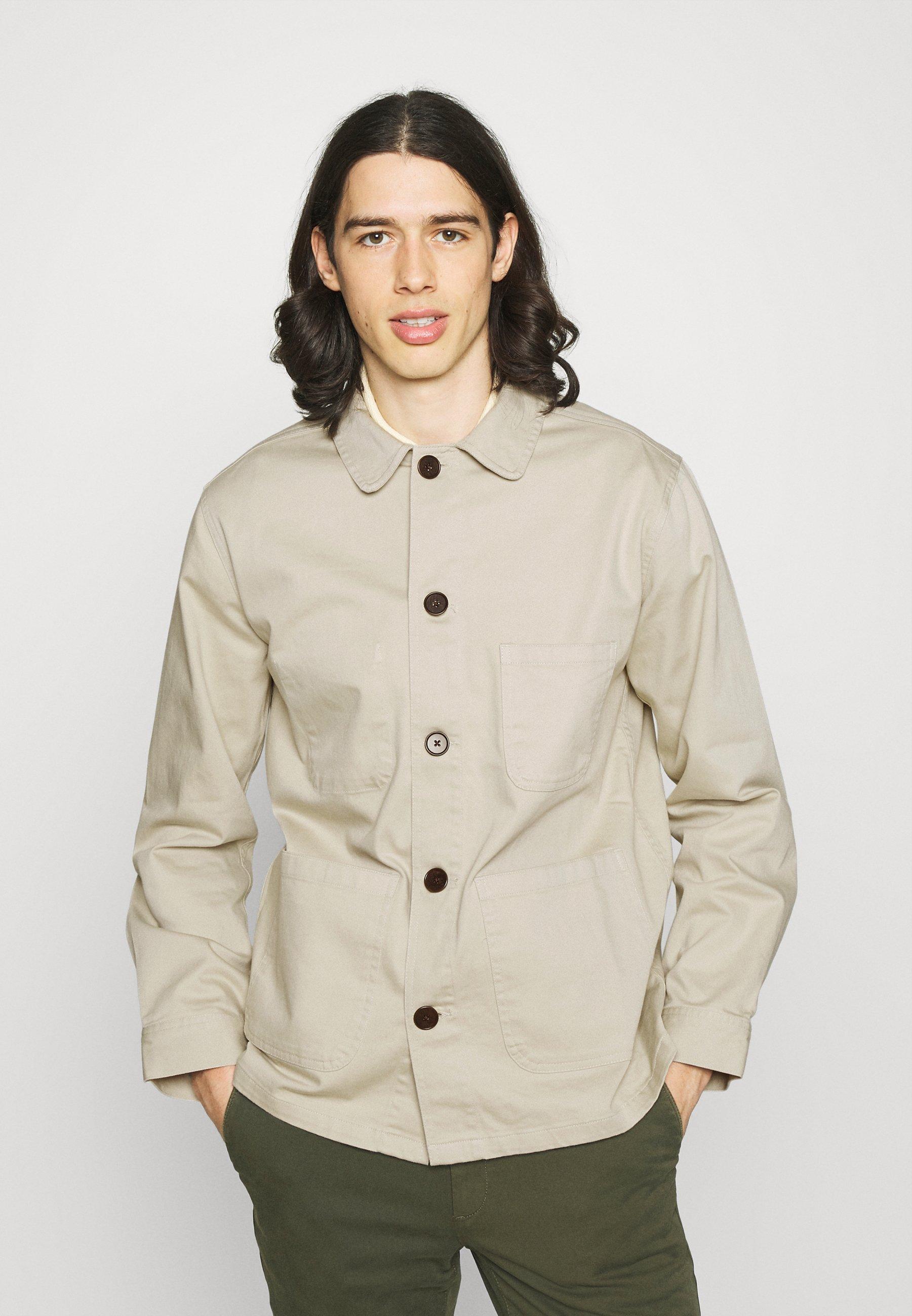 Men STATION JACKET - Summer jacket