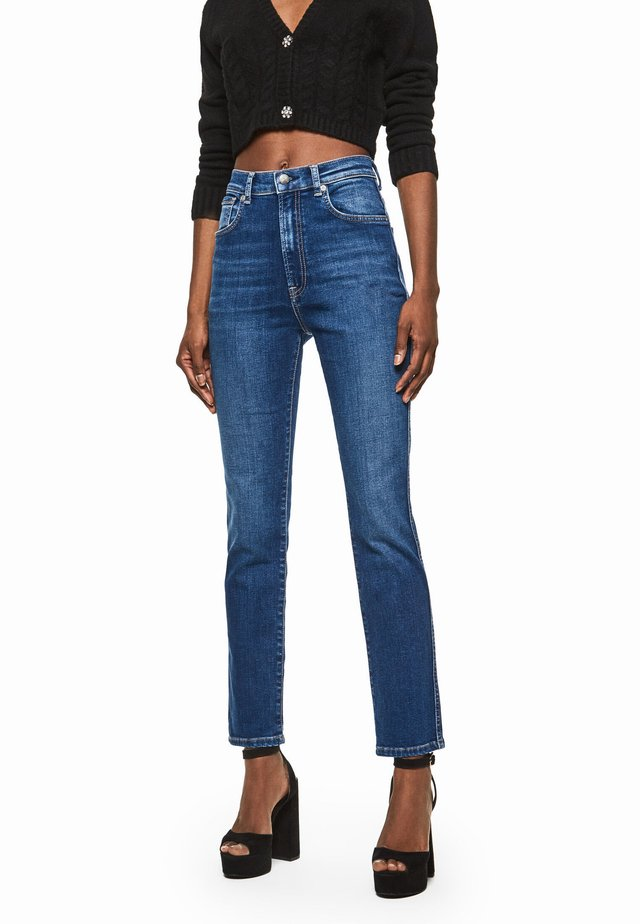 DUA LIPA X PEPE JEANS - Slim fit jeans - denim