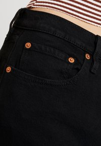 Levi's® - 501® CROP - Jeans straight leg - black heart - 5