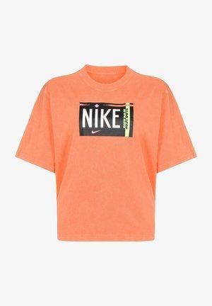 T-shirt imprimé - atomic orange