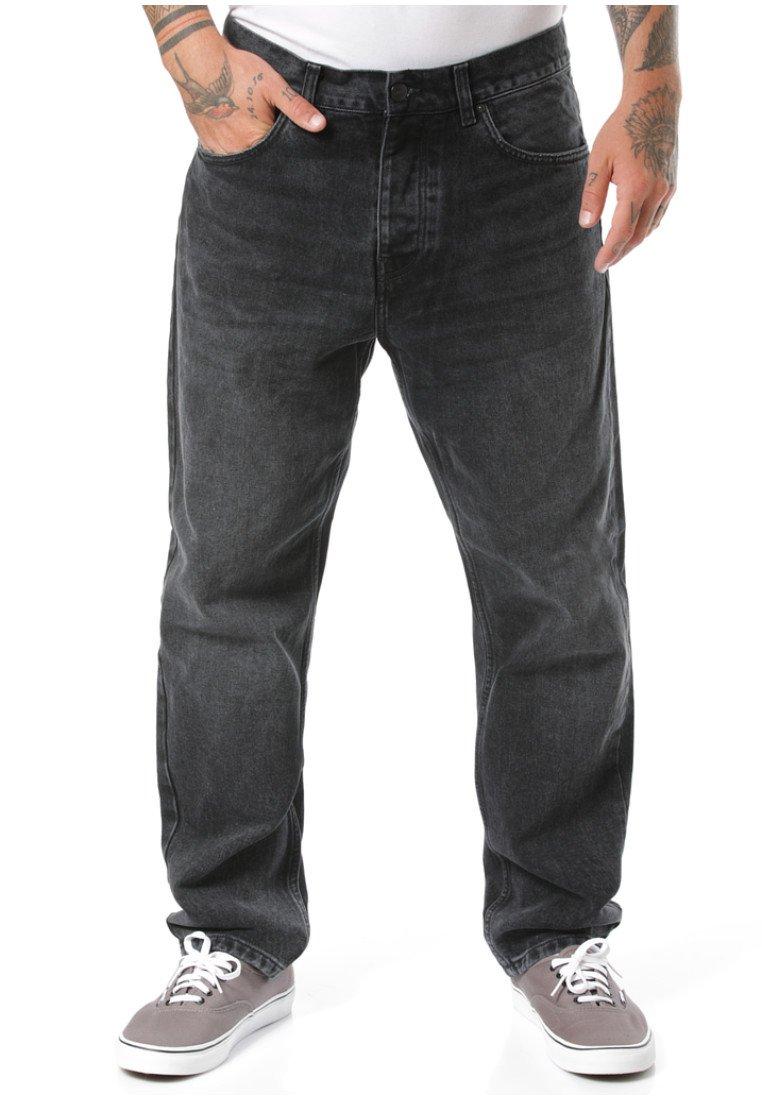 Carhartt WIP - Straight leg jeans - black