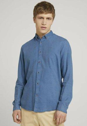 Overhemd - blue tonal structure