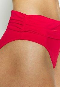 Pour Moi - SANTA MONICA FOLD OVER TIE BRIEF - Bikinibroekje - red - 4