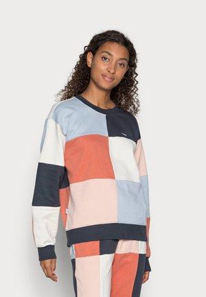 LOCKDOWN CREW - Sweatshirt - french navy multi
