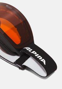 Alpina - NAKISKA UNISEX - Lyžařské brýle - black - 4