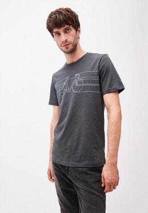 JAAMES SMOOTH BIKE - Print T-shirt - acid black