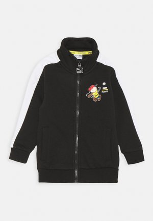 PEANUTS TRACK JACKET UNISEX - Zip-up hoodie - black