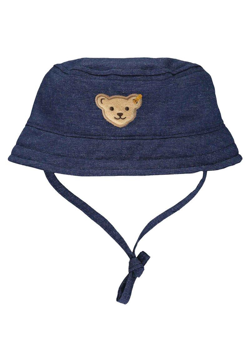 Steiff Collection - STEIFF COLLECTION HUT MIT TEDDYBÄRMOTIV - Hat - ensign blue