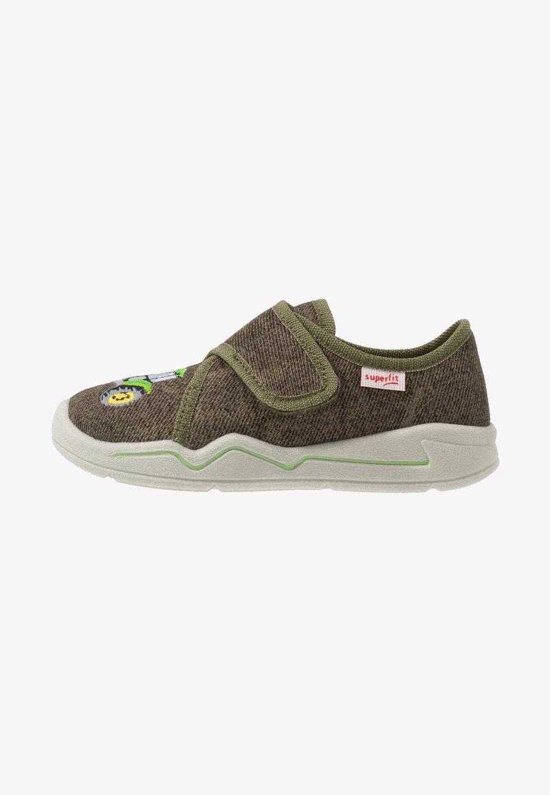 Superfit - BENNY - Domácí obuv - grün