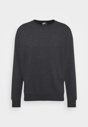 CREW - Sweatshirt - black/dark smoke grey