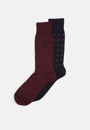 2 PACK - Socks - navy/red